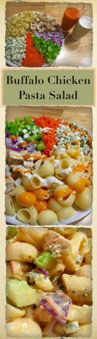 Buffalo Chicken Pasta Salad Pinterest
