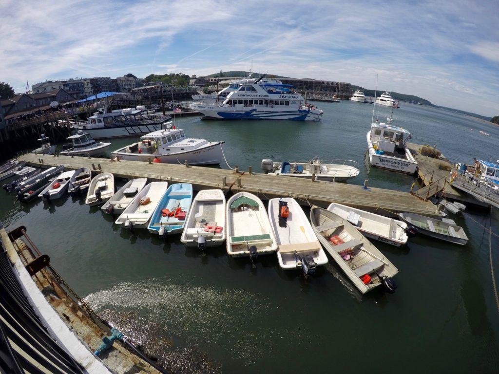 bar harbor dock.