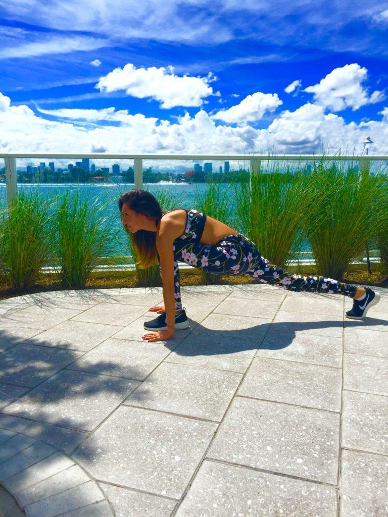 South beach workout yoga