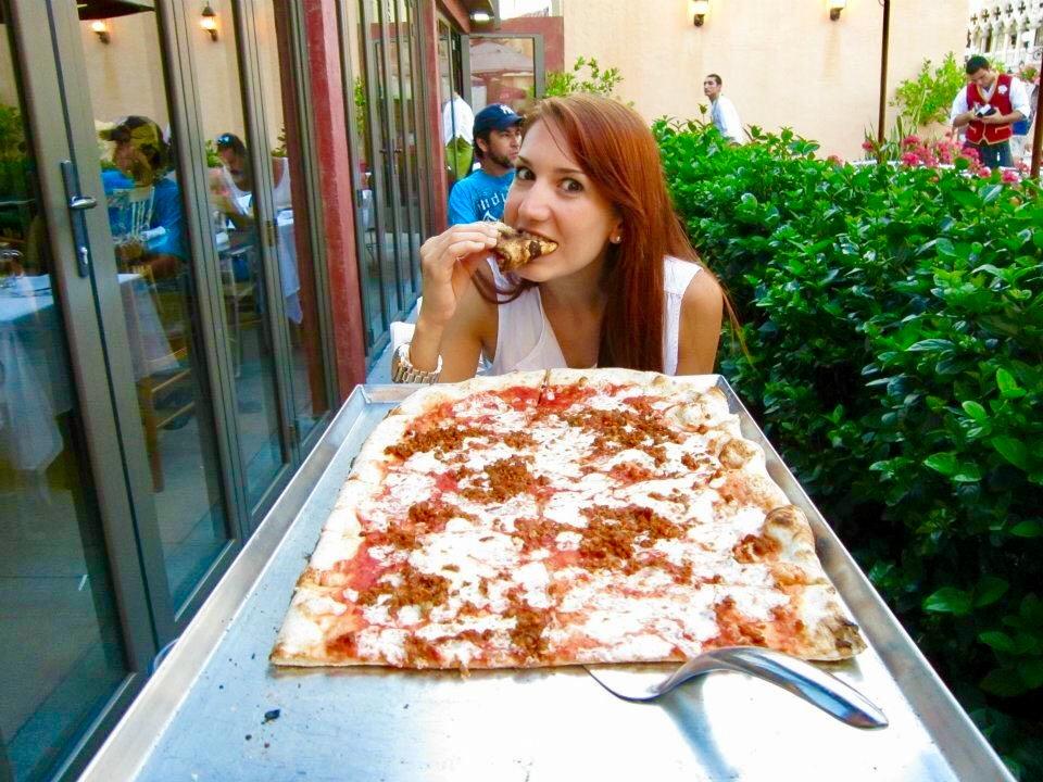 pizza in disney