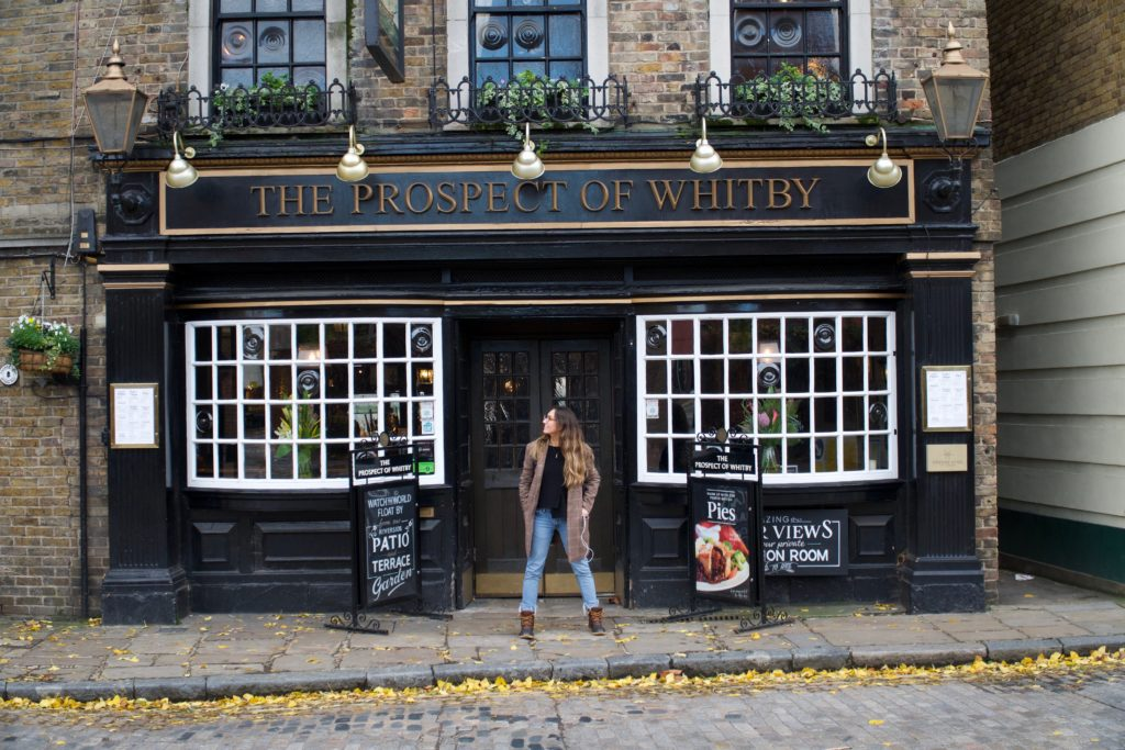 oldest pub in london prospect of whitby