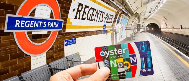 London Tube Oyster Card