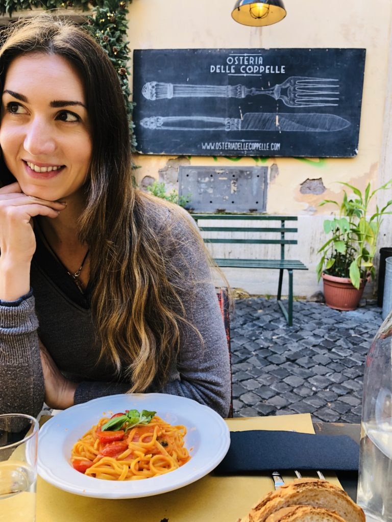 Osteria Delle Coppelle is the best pasta in Rome