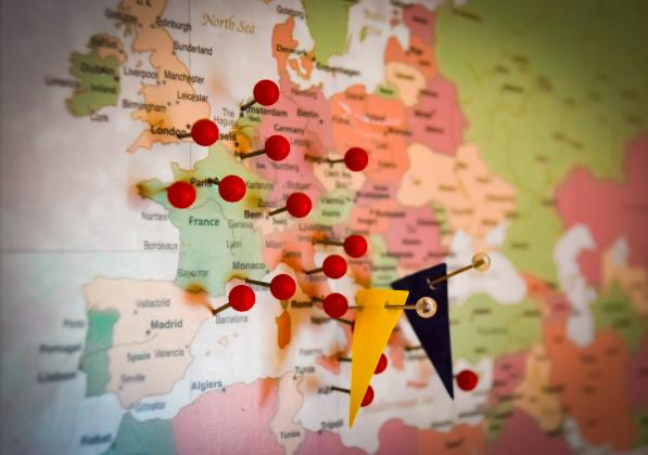 plan a trip map