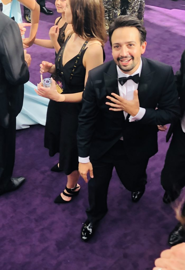 Lin Manuel Miranda Emmys Red Carpet