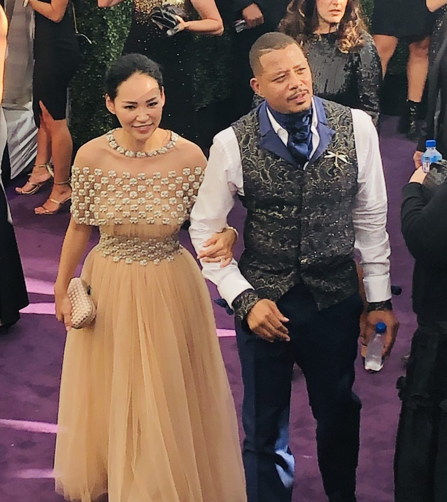 Terrence Howard emmys red carpet