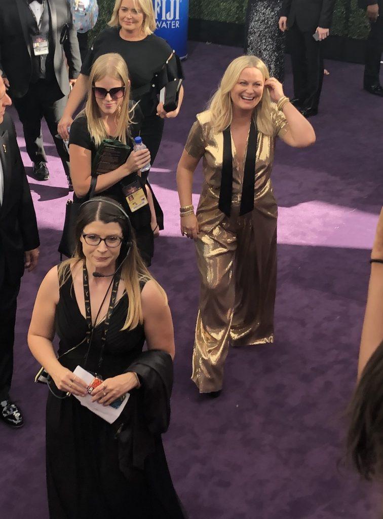 Amy Poehler emmys red carpet