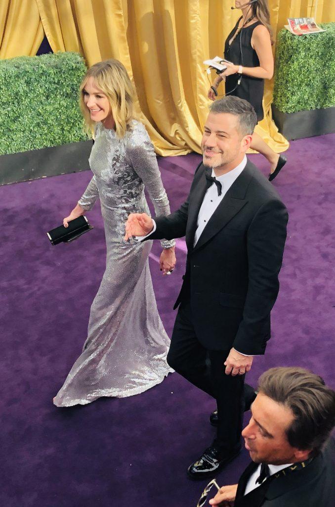 Jimmy Kimmel emmys red carpet