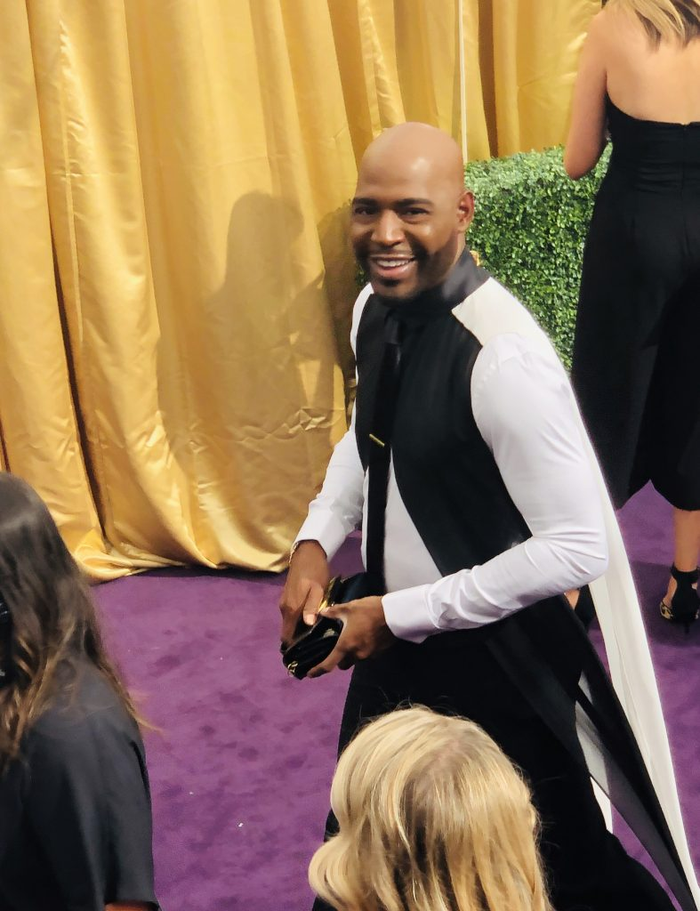 Karamo Brown Emmys Red carpet