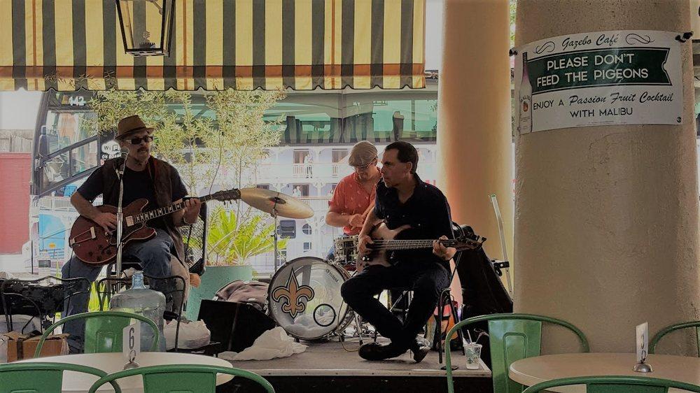 Live jazz at the gazebo cafe