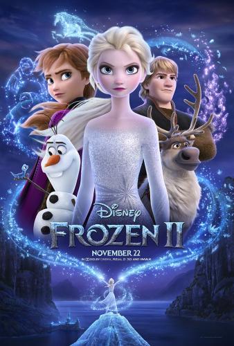 Frozen2 movie poster