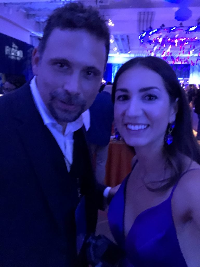 Jeremy Sisto at the Frozen 2 premiere in the Dolby theater with megforit Meg Harrell