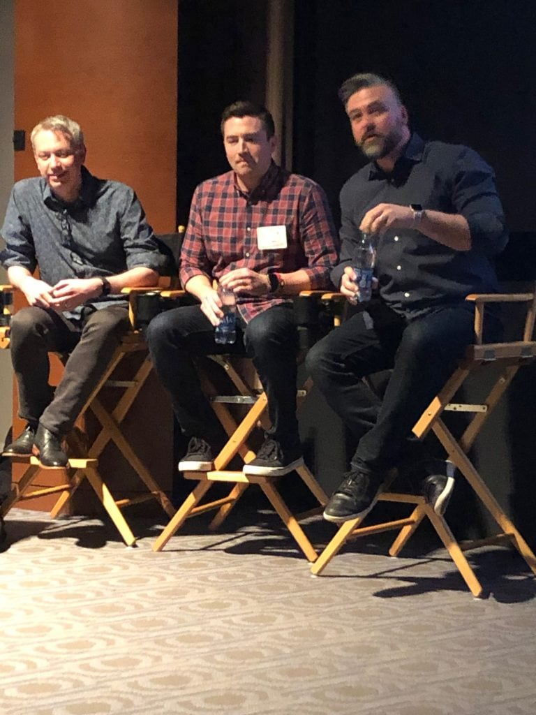 Nick Bruno and Troy Quane Directors of Spies in Disguise